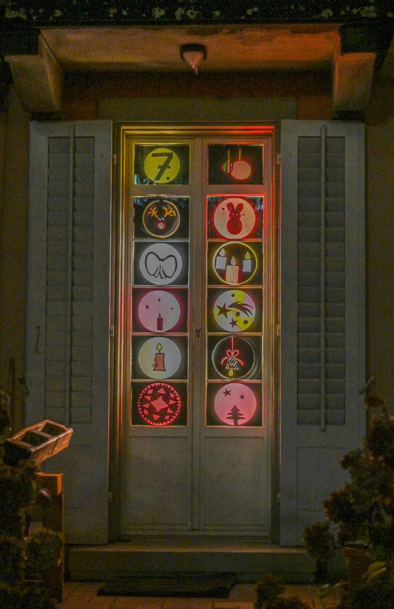 Stimmungsvolle Adventsfenster im Römerquartier!